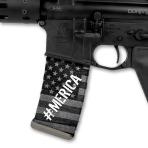 MagWrap #Merica gray American Flag